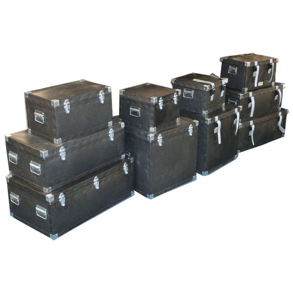 PH480 Plastic Eco Flight Cases - Hinged Lid
