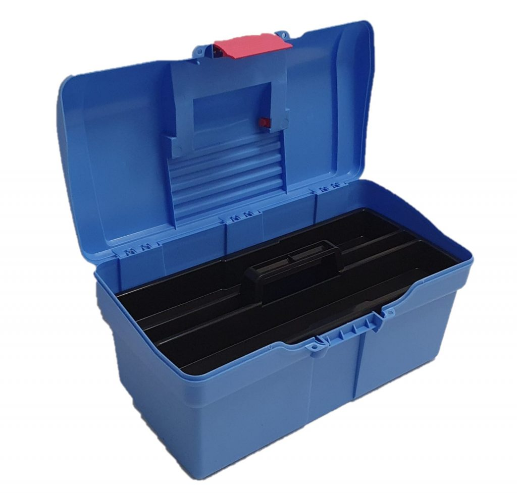 Horse Grooming Box With Removable Tray