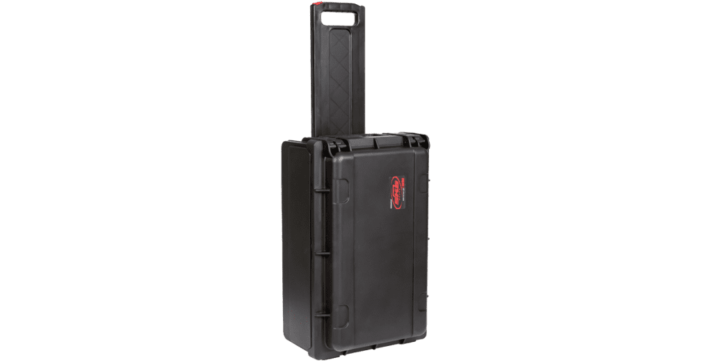 SKB Injection Molded 2U Studio Flyer Rack Case