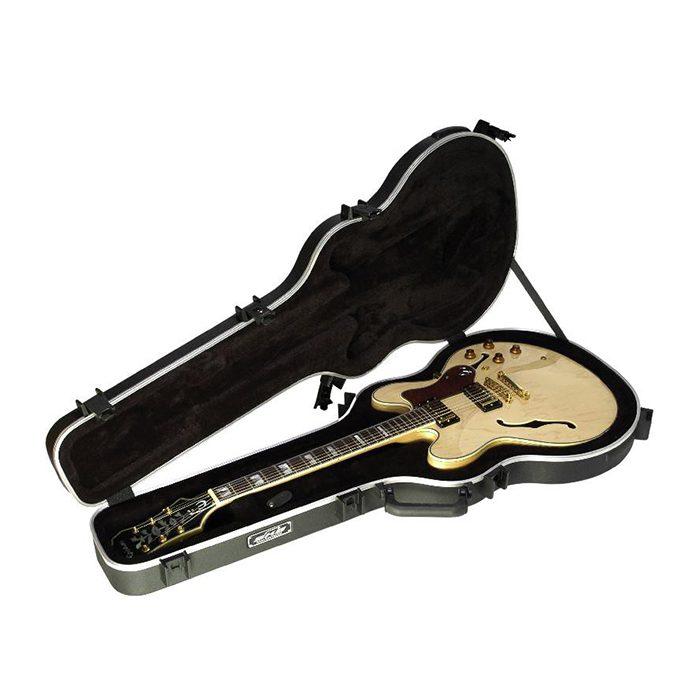 skb 335 style hardshell guitar flight case trifibre. Black Bedroom Furniture Sets. Home Design Ideas
