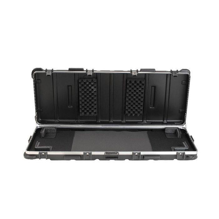 SKB ATA 88-Note Keyboard Case with Wheels TSA Locking trigger latch
