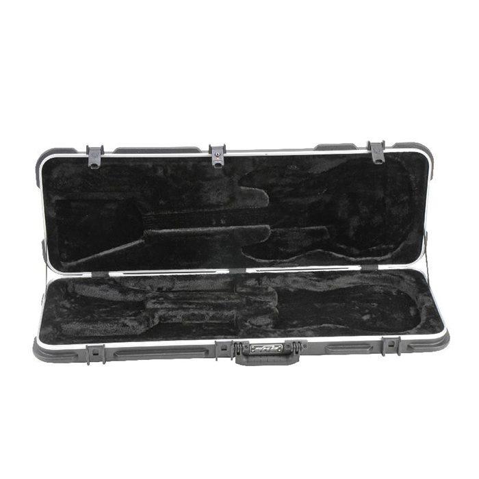 skb electric rectangular hardshell guitar flight case trifibre. Black Bedroom Furniture Sets. Home Design Ideas