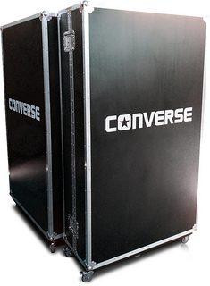 Bespoke Wardrobe Flight Case for Converse