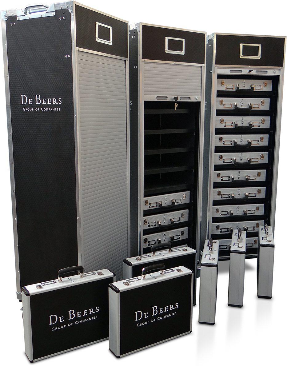 Bespoke Cases for De Beers Diamonds