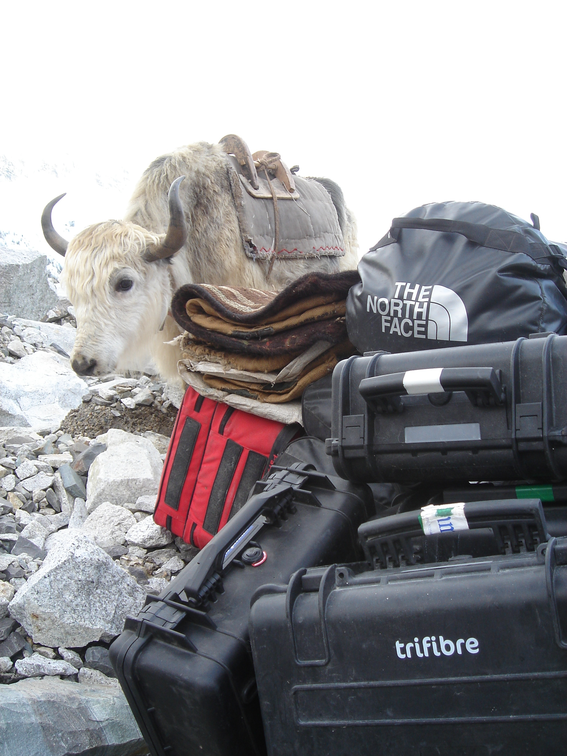 Waterproof Cases on Everest