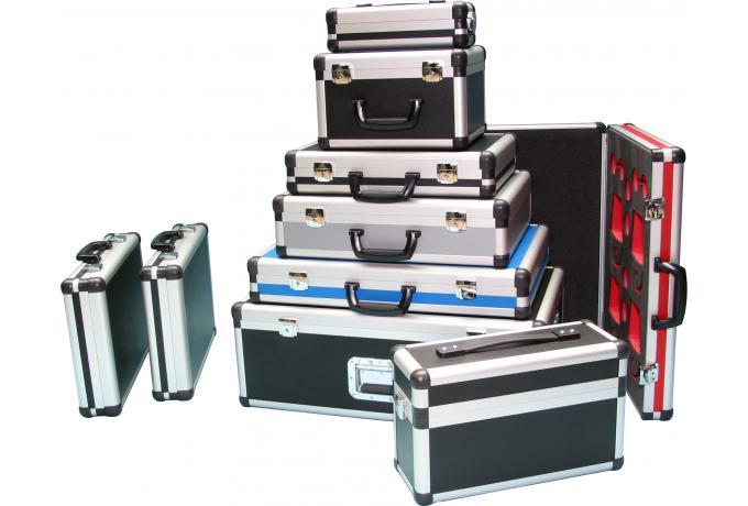 coloured aluminium cases