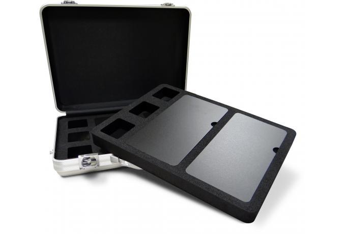 aluminium presentation case with bespoke foam interior
