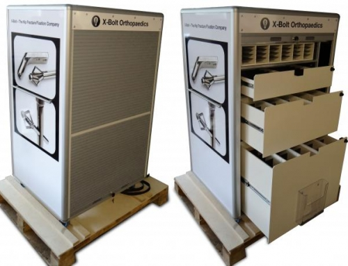 Custom Made Flight Case Medical Trolley