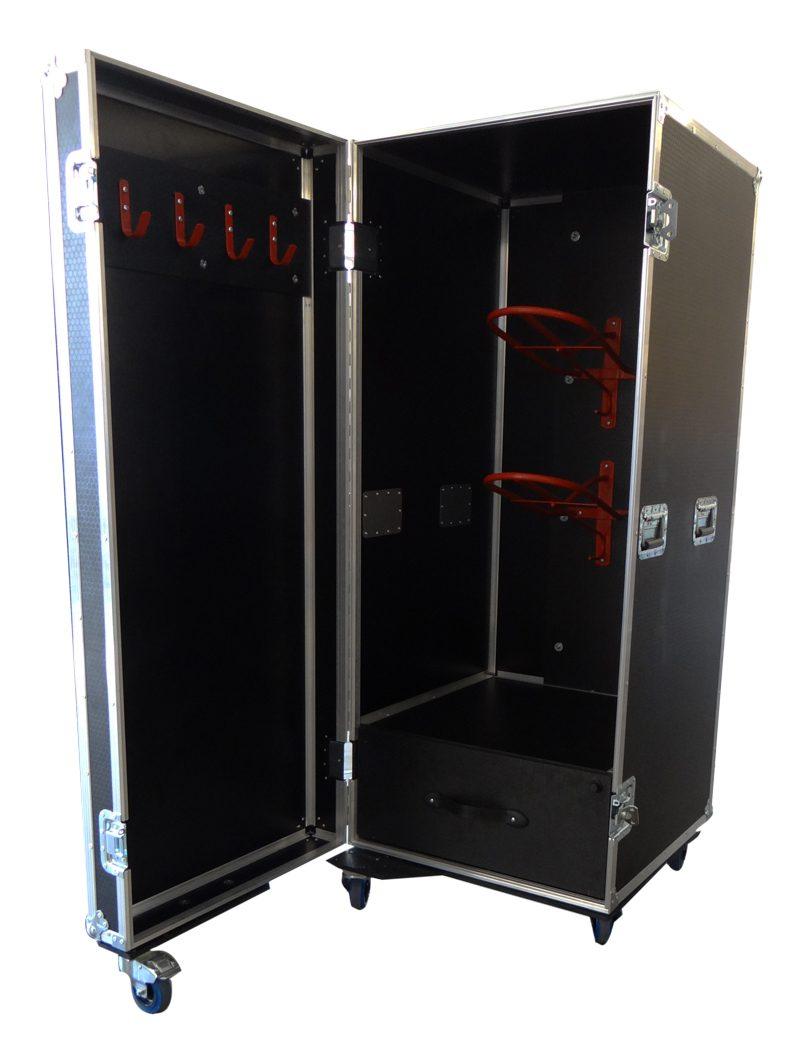 flight case wardrobe