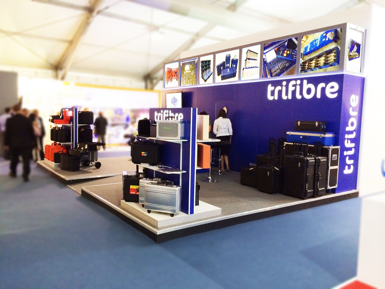 Custom Exhibition Stand Out : Check out our custom made exhibition stand for farnborough