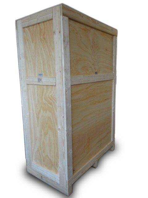 wooden packing crate
