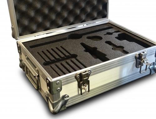 Bespoke Aluminium case with Foam insert