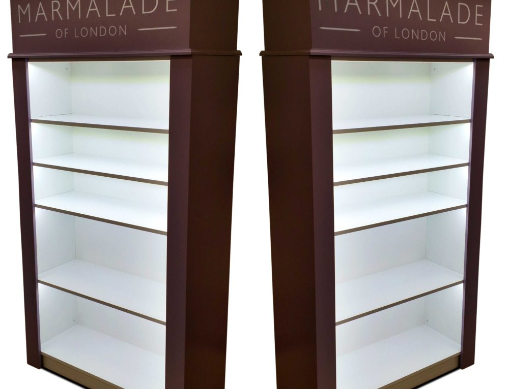 Display Cabinets for Marmalade of London