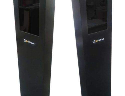 Digital Exhibition Display Totem Unit