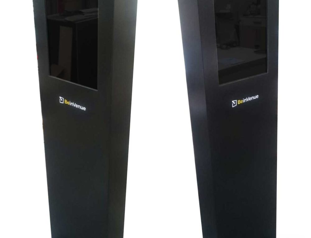Digital Exhibition Display Totem Unit