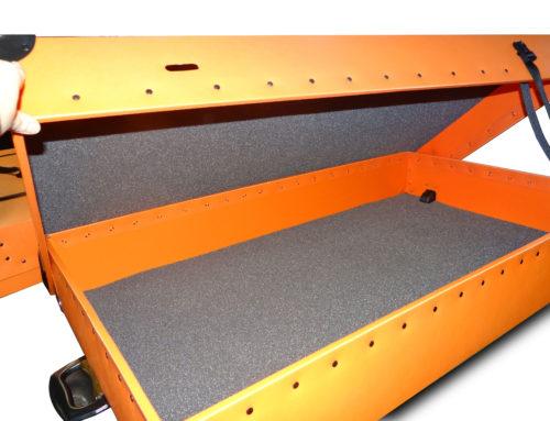 Custom Orange Poly Case