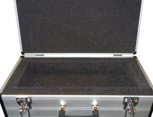 Aluminium Flight Case with bespoke insert