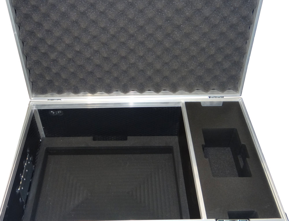 Flight Case with CNC Routed Foam Insert Padding