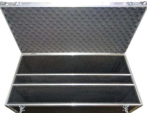 Flight case to transport sky panels