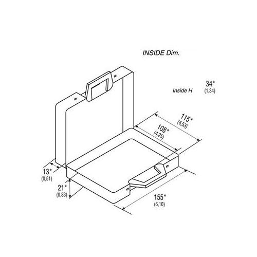 Classic 170/16 Plastic Case