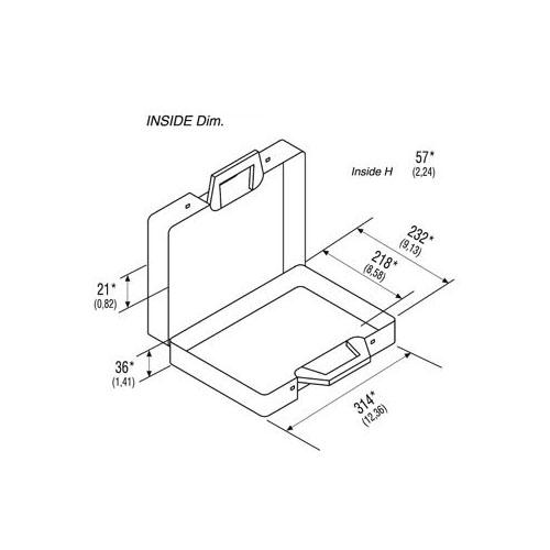 Classic 170/31 Plastic Case