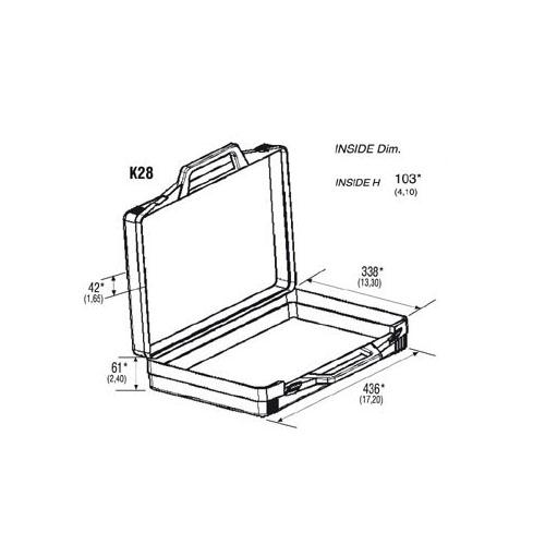 K28 Plastic Case