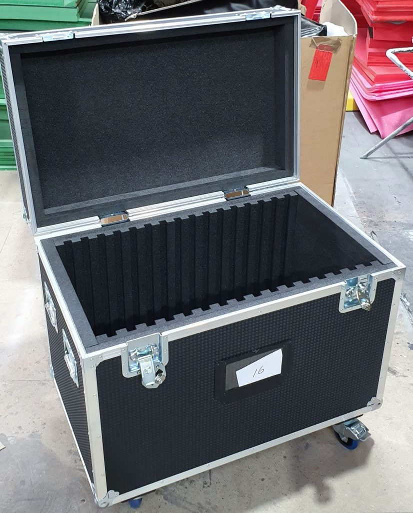 Road Trunk Flight Case Foam Lined