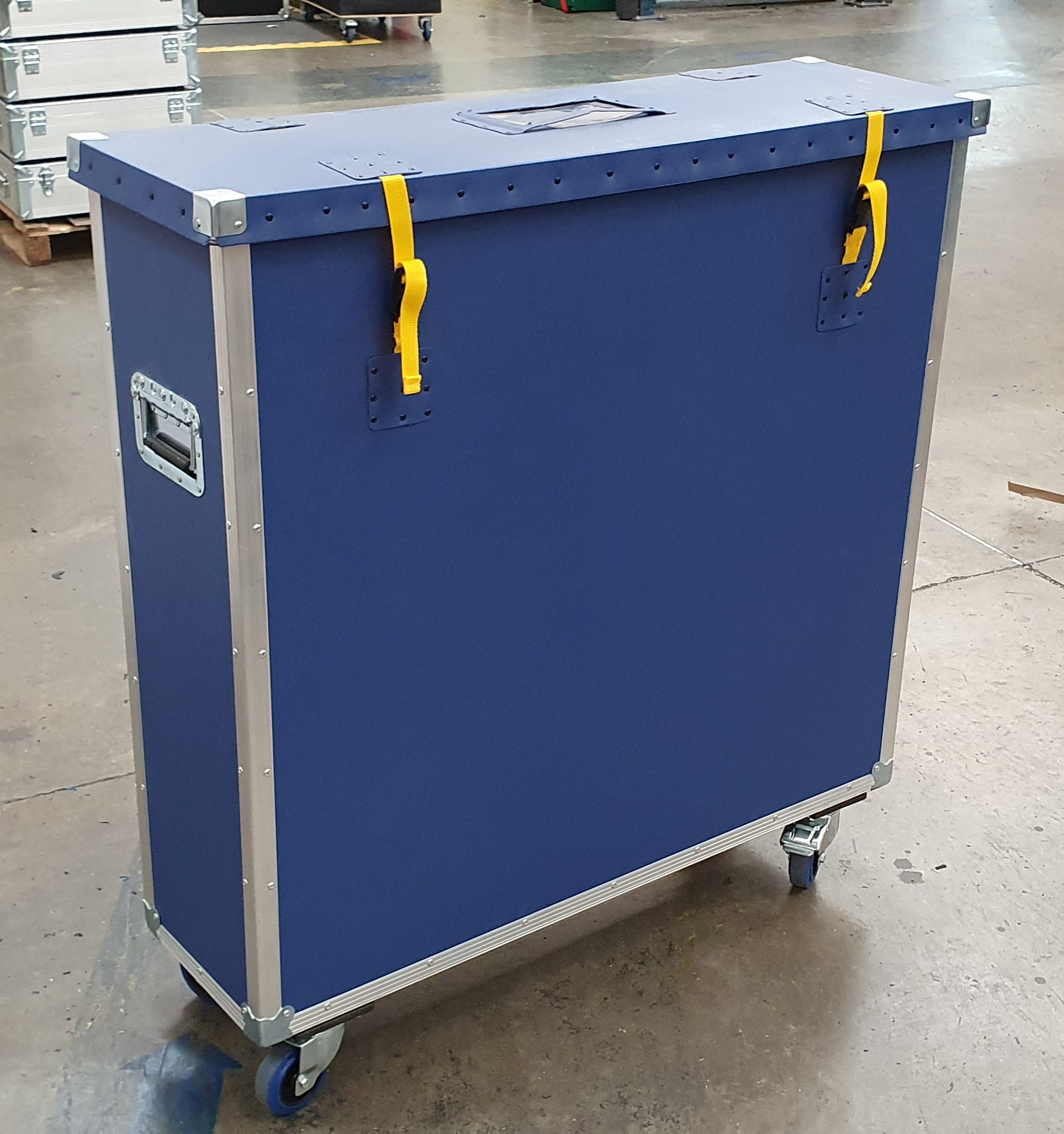 ROADTRUNK POLY/FLIGHT CASE BLUE 1060 X 285 X 1000mm