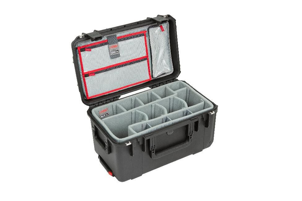 SKB iSeries 2011-10 Case w/Think Tank Designed Photo Dividers & Lid Organiser