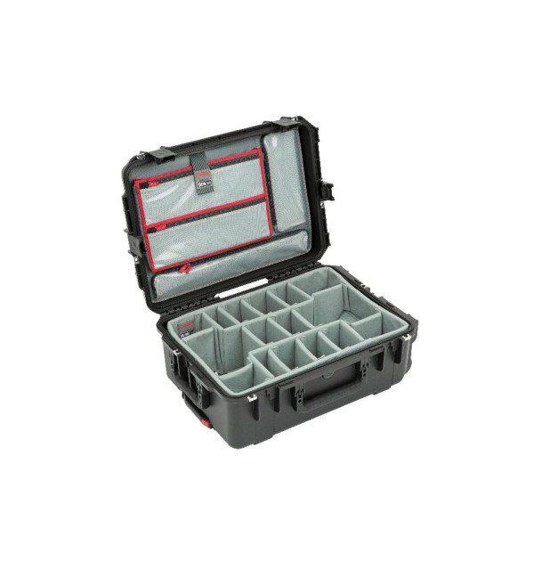 SKB iSeries 2215-8 Case w/Think Tank Designed Dividers & Lid Organiser