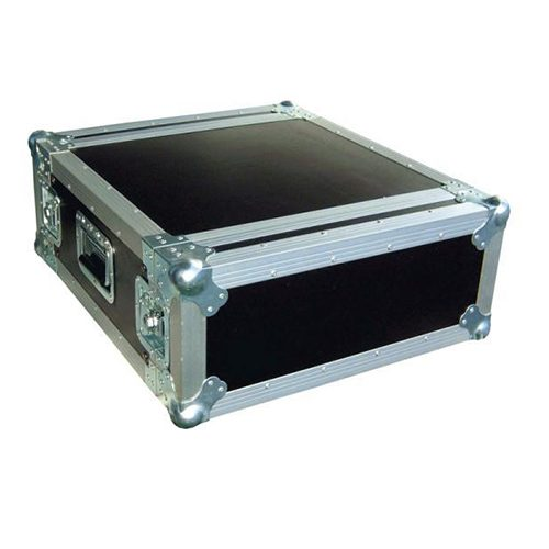 4U Shockmount Rack Flight Case - Depth 607mm