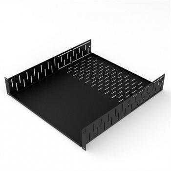 4U Clamping Rack Shelf 500mm/19.69″ Deep R1297-500/4UK