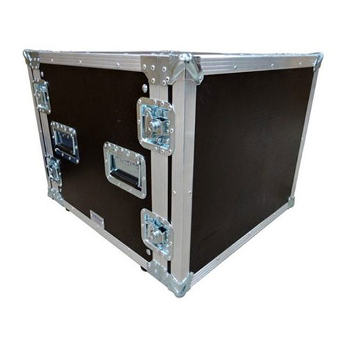 6U Shockmount Rack Flight Case – Depth 807mm
