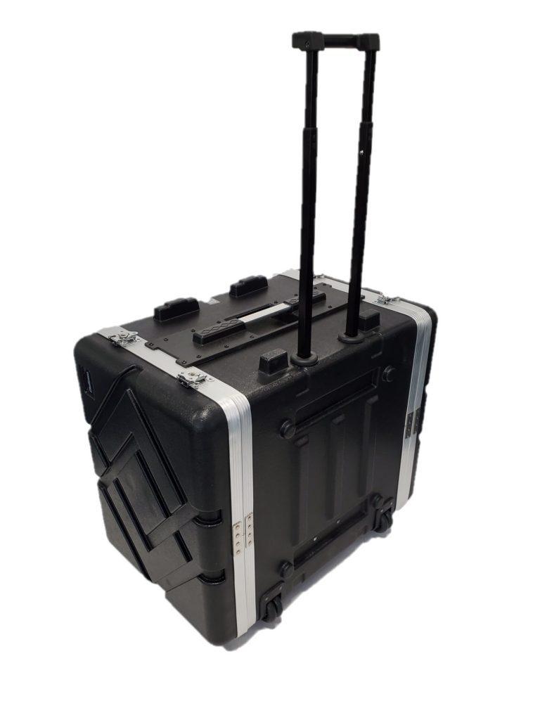 Challenger 19″ 7U ABS Wheeled Trolley Rack Case
