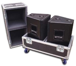 Logic Systems BL 15PS Speaker Flight Cases