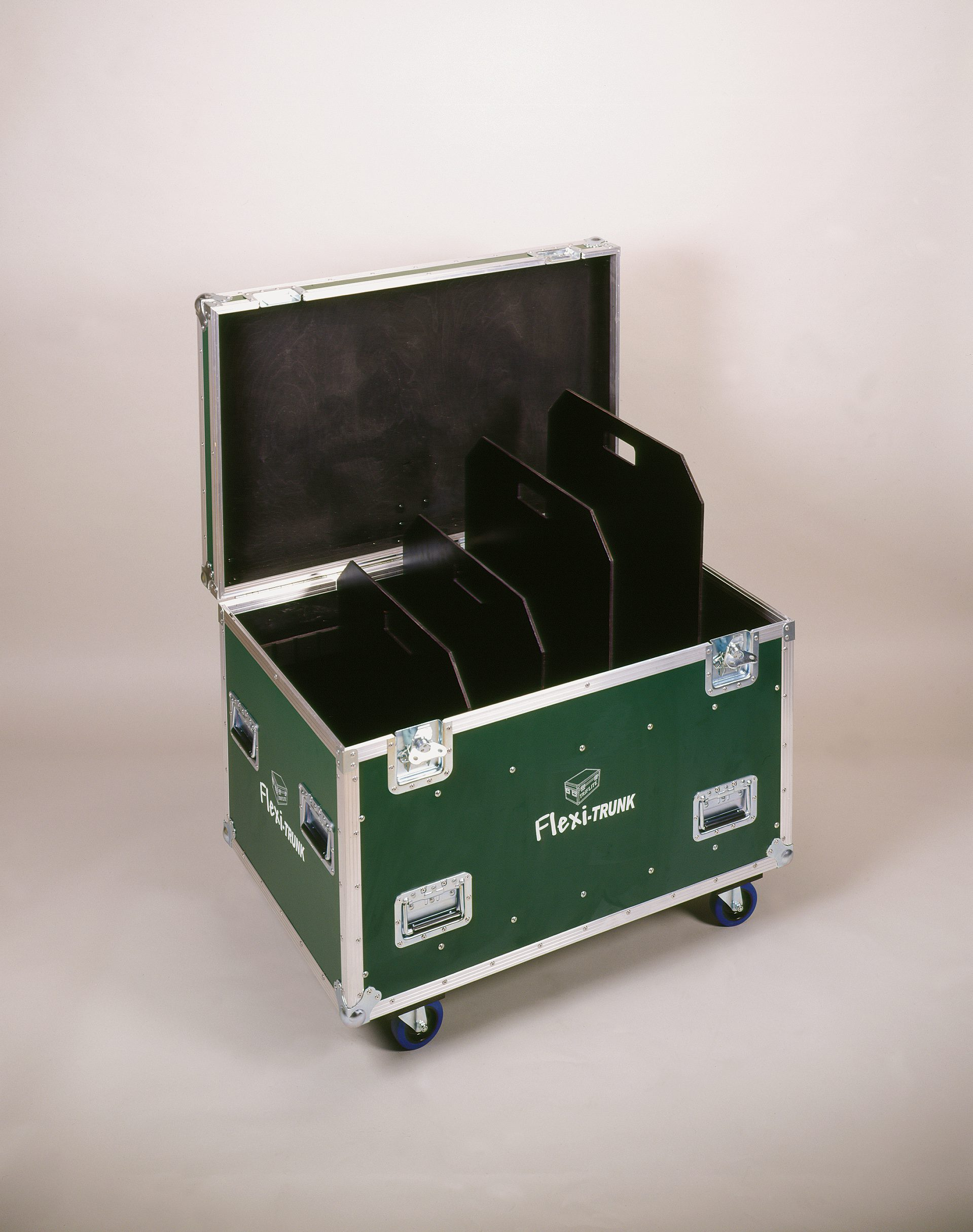 Flexi-Trunks Cable Trunk Flight Case With Adjustable Divisions