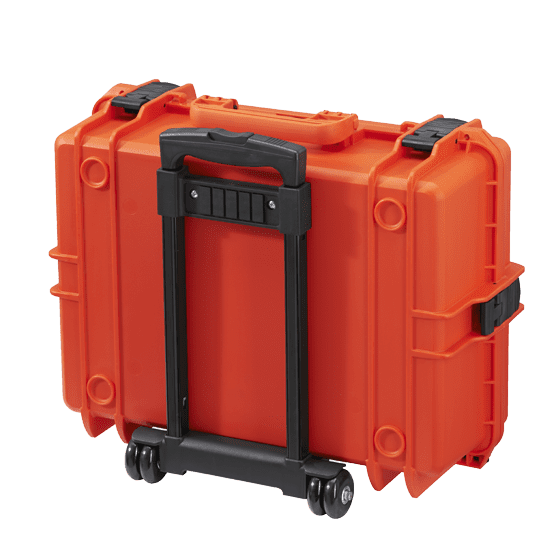 MAX505TR Tough IP67 Rated Case With Wheels