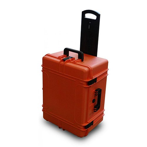 MAX620H340TR Orange Tough IP67 Rated Case With Wheels