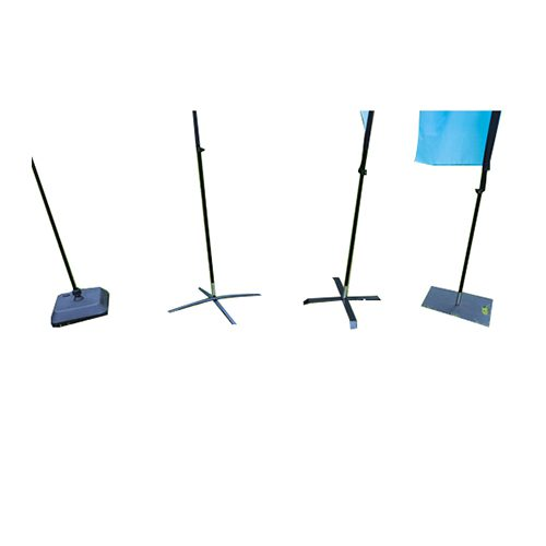 Pro Beach Flag Pole Medium Teardrop Shape Double Sided