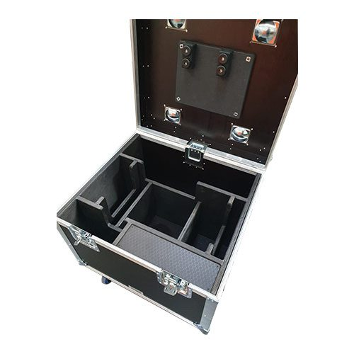 Liftek 1 Tonne Chain Rigging Hoist Motor Flight Case Touring Trunk
